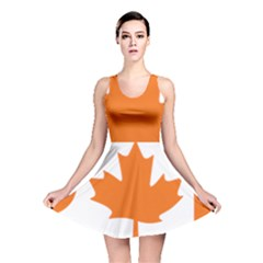 Logo Of New Democratic Party Of Canada Reversible Skater Dress by abbeyz71