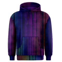 Abstract Background Plaid Men s Pullover Hoodie