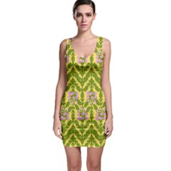 Texture Nature Erica Bodycon Dress by HermanTelo