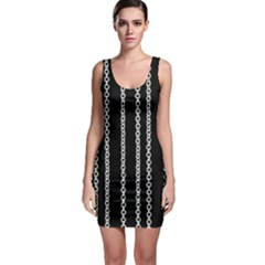 Chains Black Design Metal Iron Bodycon Dress by HermanTelo
