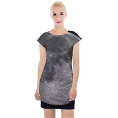 Full Moon Cap Sleeve Bodycon Dress by TheAmericanDream