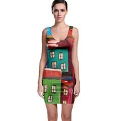Houses Handmade Cultural Bodycon Dress