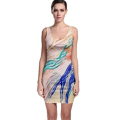 Paint Acrylic Paints Bodycon Dress