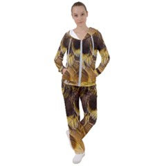 Wing Feather Bird Animal World Women s Tracksuit by Pakrebo