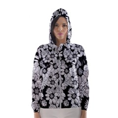Mandala Calming Coloring Page Women s Hooded Windbreaker