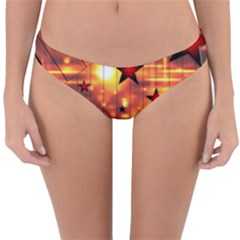 Star Radio Light Effects Magic Reversible Hipster Bikini Bottoms by HermanTelo