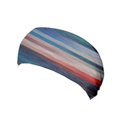 Background Horizontal Lines Yoga Headband