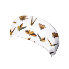 Butterflies Insect Swarm Yoga Headband