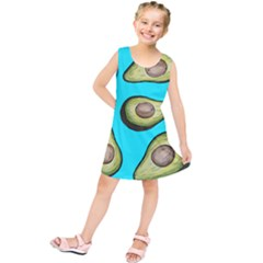 Fruite Avocado Kids  Tunic Dress