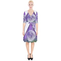 Form Triangle Moon Space Wrap Up Cocktail Dress