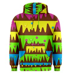 Illustration Abstract Graphic Rainbow Men s Pullover Hoodie