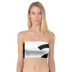 Alberta Highway 2 Shield Bandeau Top by abbeyz71