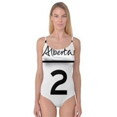 Alberta Highway 2 Shield Camisole Leotard  by abbeyz71