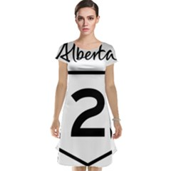 Alberta Highway 2 Shield Cap Sleeve Nightdress by abbeyz71