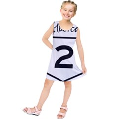 Alberta Highway 2 Shield Kids  Tunic Dress by abbeyz71
