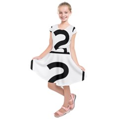 Alberta Highway 2 Shield Kids  Short Sleeve Dress by abbeyz71
