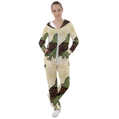 Egyptian Paper Papyrus Bird Women s Tracksuit by Sapixe