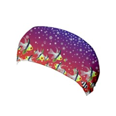 Sea Snow Christmas Coral Fish Yoga Headband by HermanTelo