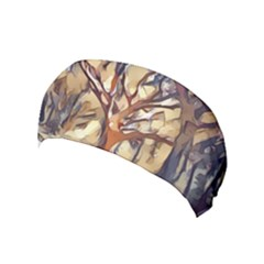 Tree Forest Woods Nature Landscape Yoga Headband by Sapixe