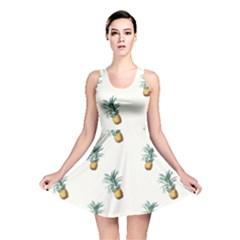 Pineapples Pattern Reversible Skater Dress by goljakoff