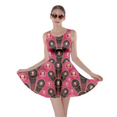 Background Abstract Pattern Skater Dress