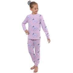 Dogs Pets Animation Animal Cute Kids  Long Sleeve Set  by Bajindul