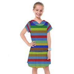 Pattern Background Kids  Drop Waist Dress by Bajindul