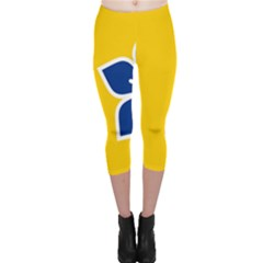 Proposed Flag Of Australian Capital Territory Capri Leggings  by abbeyz71