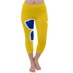 Proposed Flag Of Australian Capital Territory Capri Winter Leggings  by abbeyz71