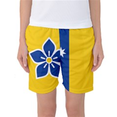 Proposed Flag Of Australian Capital Territory Women s Basketball Shorts by abbeyz71