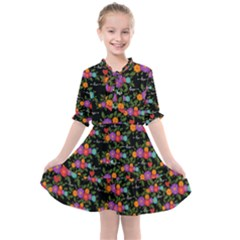 Love You Kids  All Frills Chiffon Dress by BIBILOVER