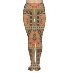 Luxury Abstract Design Tights by tarastyle