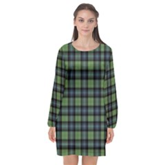 Abercrombie Tartan Long Sleeve Chiffon Shift Dress  by impacteesstreetwearfour
