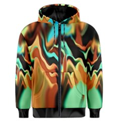 Infinity Mountains Ii Men s Zipper Hoodie by 5dwizard