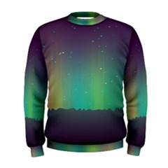 Background Colors Abstract Green Men s Sweatshirt