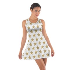 Gold Star Cotton Racerback Dress by WensdaiAddamns