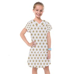 Gold Star Kids  Drop Waist Dress by WensdaiAddamns