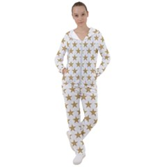 Gold Star Women s Tracksuit by WensdaiAmbrose