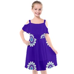 33sahara426 Kids  Cut Out Shoulders Chiffon Dress by saharastr33t