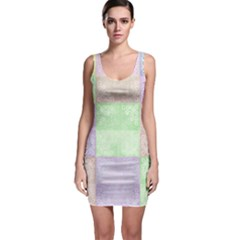 Pastel Quilt Bodycon Dress by TimelessFashion
