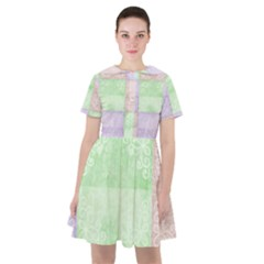 Pastel Quilt Sailor Dress by TimelessFashion