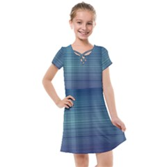 Unity Of Lines Kids  Cross Web Dress by TimelessFashion