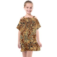 Safari 1 Kids  One Piece Chiffon Dress by ArtworkByPatrick
