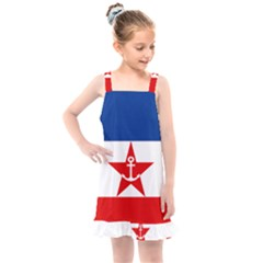 Naval Ensign Of Yugoslavia, 1943 1949 Kids  Overall Dress by abbeyz71