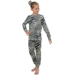 Hundred Dollars Kids  Long Sleeve Set  by snowwhitegirl