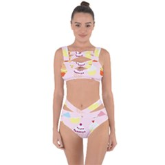 Eat Cupcakes Bandaged Up Bikini Set  by WensdaiAmbrose