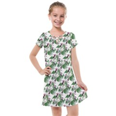 Seamless Background Vintage Kids  Cross Web Dress by Nexatart
