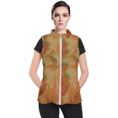Mottle Color Movement Colorful Women s Puffer Vest by Nexatart