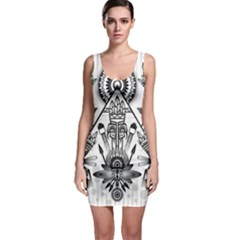 Ancient Parade Ancient Civilization Bodycon Dress