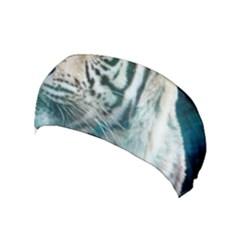 White Tiger Yoga Headband by snowwhitegirl
